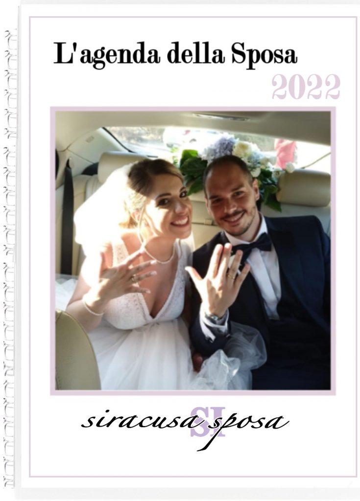 copertina agenda della sposa